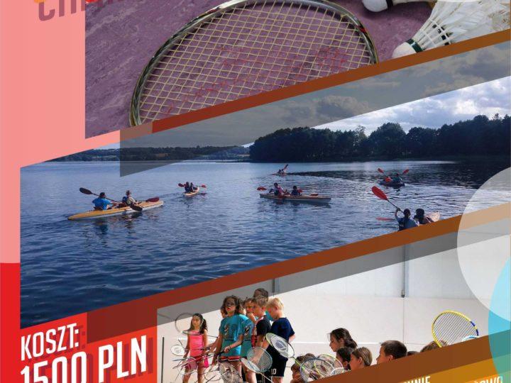 Obóz Badmintona Chmielno 2020